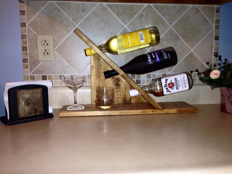 Wine/Whiskey Rack