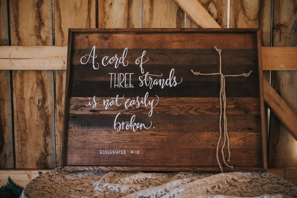 Custom Barnwood Wedding/Unity Sign
