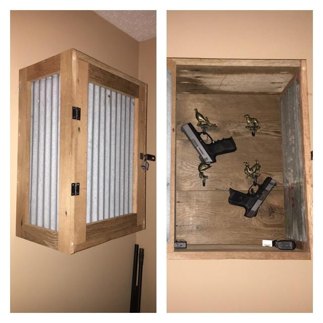 Custom Pistol Cabinet