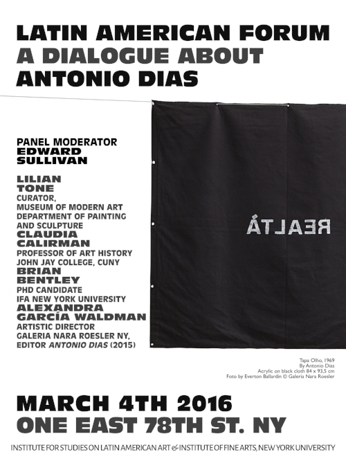 ISLAA - Website - Initiatives - Post 40 - Poster - A Dialogue About Antonio Dias.jpg