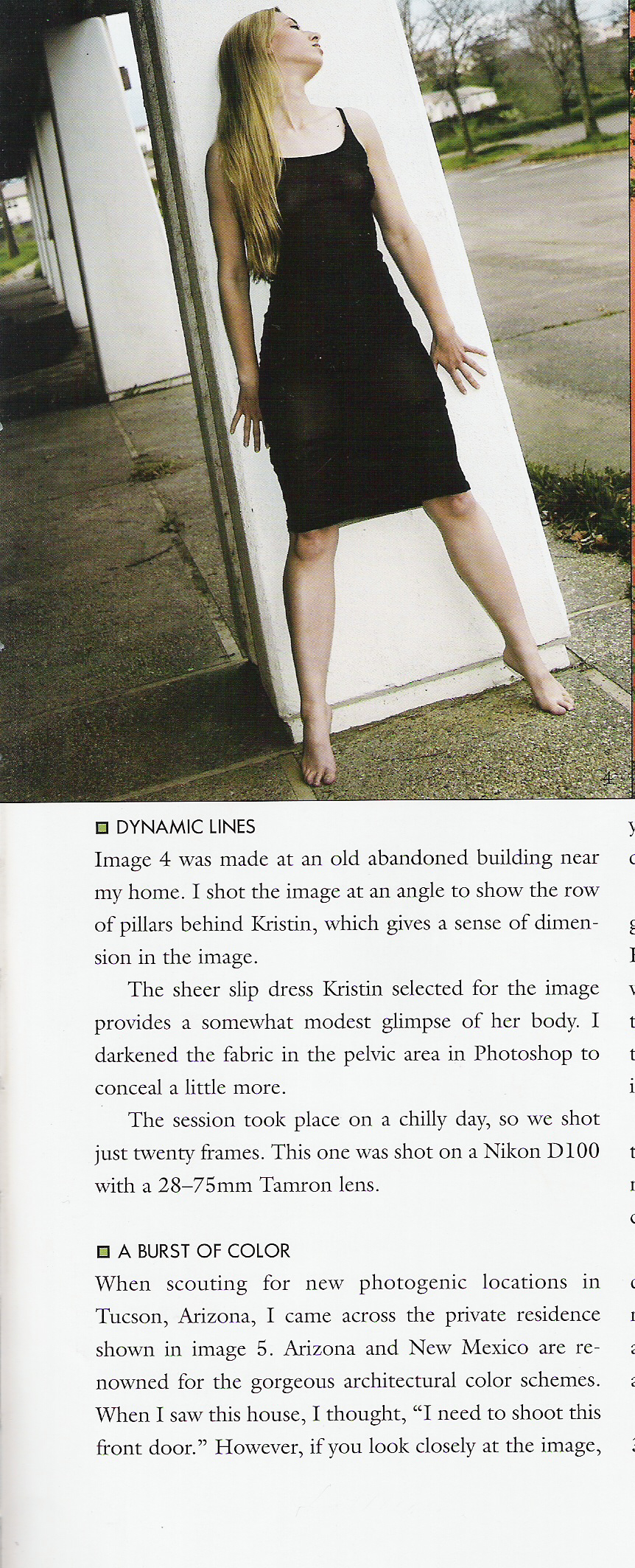 Published in one of Bill Lemon's Photography Books