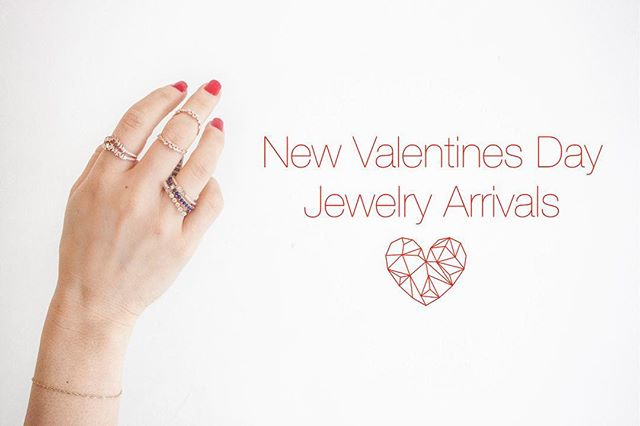 Valentines Day is upon us 💕 — We have brand new handpicked arrivals just for you! Come by and see us tomorrow for your last minute Valentine's Day shopping.