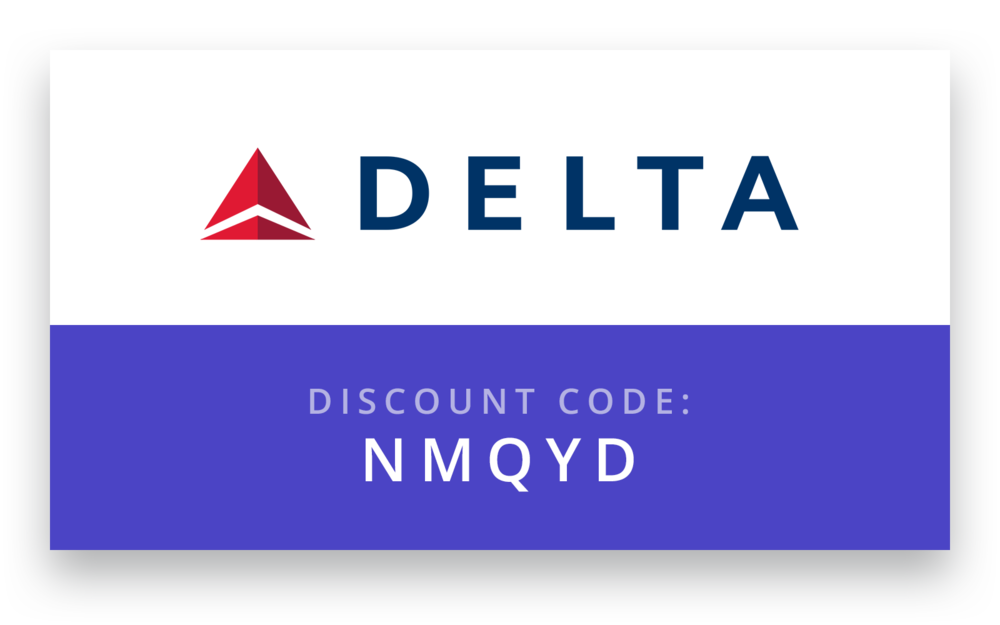 """Delta Airlines - Visit www.delta.com/meetings, then click on """"Book A Trip"""" in the top navigation bar. When selecting your flight preferences on the search form, be sure to select PSP as the airport in Palm Springs and enter the Meeting Event Code NMQYD in the """"Meeting Event Code"""" box to view the discounted rates.Alternately, you may call Delta Reservations to make your reservation at 800-328-1111 and use Meeting Event Code NMQYD."""