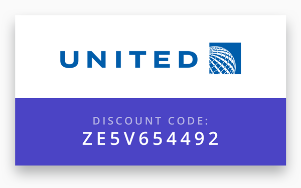 "United Airlines - Visit  www.united.com and click ""All search options"" to expand the search form. Be sure to select PSP as the airport in Palm Springs and enter the Promo Code ZE5V654492 in the Promotions and Certificates box to view the discounted rates.Alternatively, you may call United Reservations Meetings to book your flight at 800-426-1122 and notify the representative of the Z Code ZE5V and Agreement Code 654492."