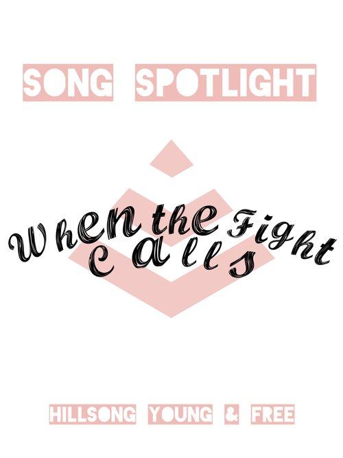 Song Spotlight: When the Fight Calls — Jocelyn Hunsader
