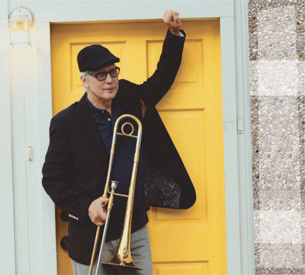 Mark McGrain, New Orleans trombonist & composer