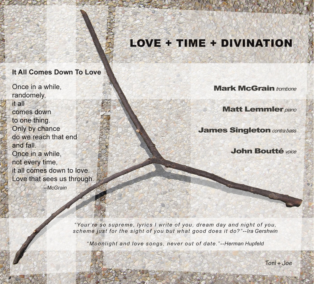"Album Inside R: ""LOVE+TIME+DIVINATION"" by Mark McGrain"