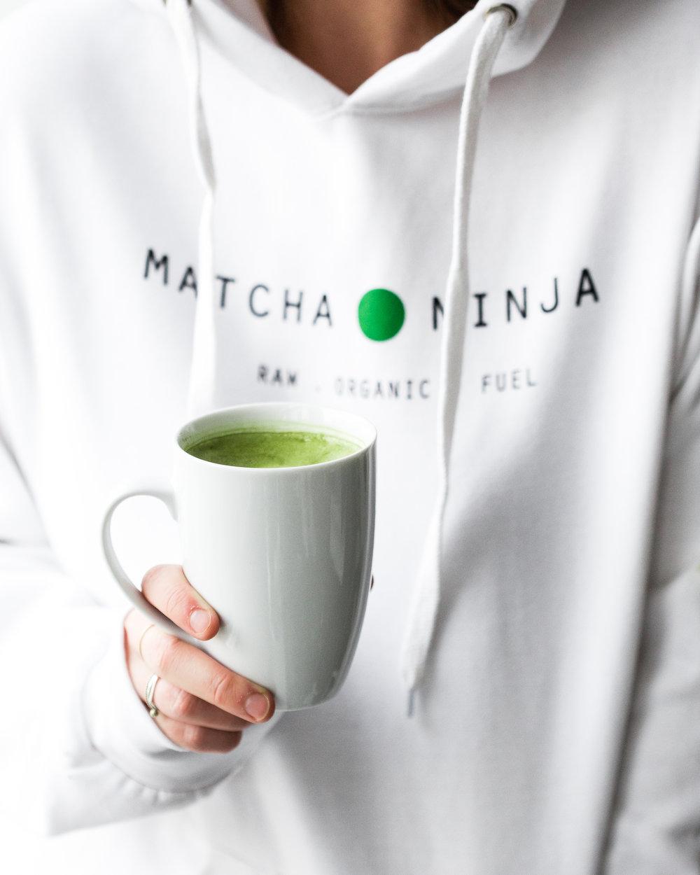 sleep better with matcha