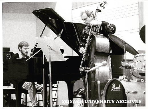 #tbt to Simon performing @monash_uni #melbourne #aussiesofinstagram #originalmusic #jazz