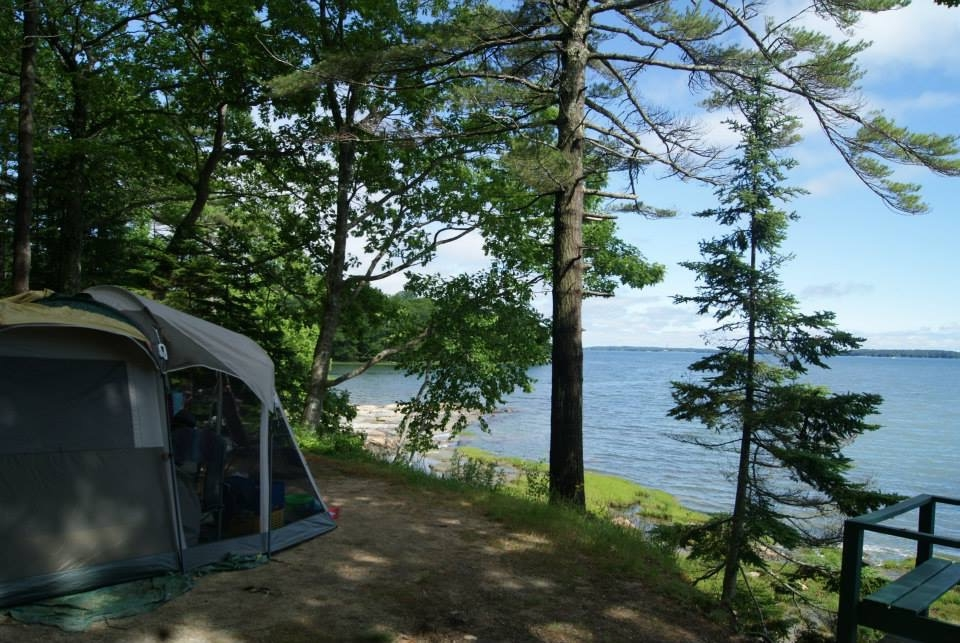 Oceanfront Camping -