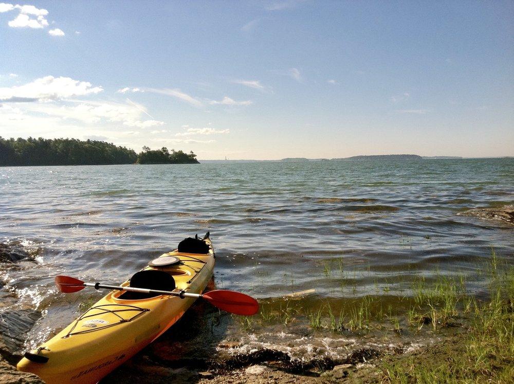 Kayak and canoe rentals -