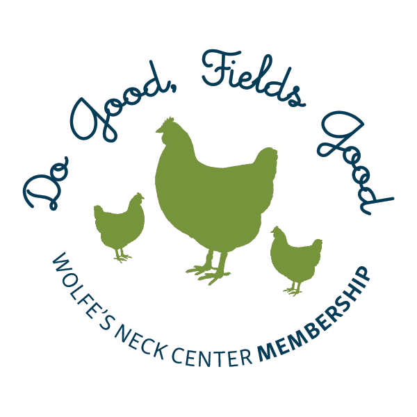 -   We've reimagined the Wolfe's Neck Center Membership Program!  Join us as a member and  become a part of a community of people who care about this special place. Your membership supports our educational programs, plus enjoy NEW added farm perks!