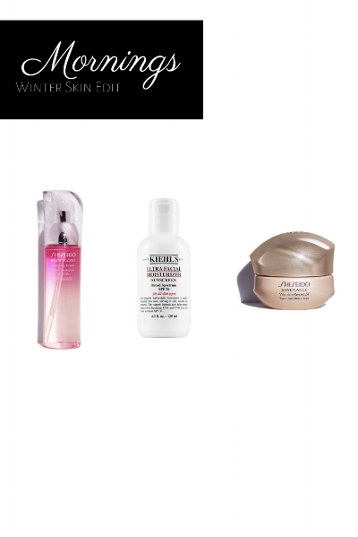 Photo Credit: Kiehl's.com, shiseido.com