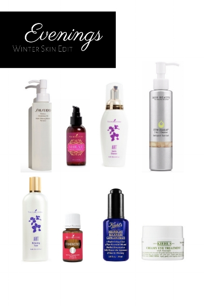 Photo Credit: kiehl's.com, young living.com, juicebeauty.com, sephora.com, shiseido.com
