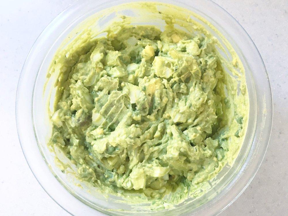 Avocado Egg Salad -