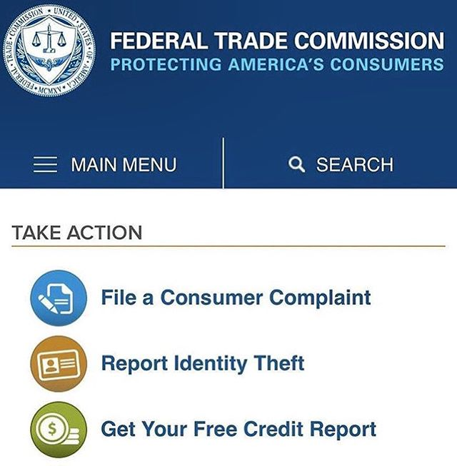 Consumers everywhere have access to the #FTC if you have a complaint against a business we can help you fill out the forms! We will make sure you're able to utilize all the #FTC has to offer. Visit the #FTC better known as the federal trade commissions website to learn more details!!! ---------------------------------------------------- HTTPS://www.ftc.gov/