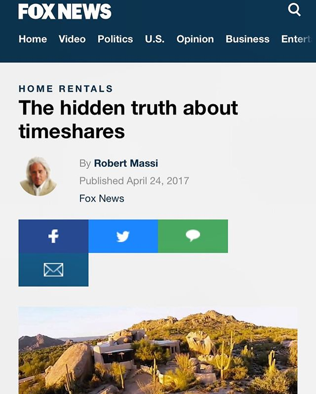 ---------------------------------------------------🛑TIMESHARE OWNERS - STOP & READ!🛑 ---------------------------------------------------⚠️ Great article By Robert Massi - Addressing some important things to know about timeshares & the timeshare industry. ---------------------------------------------------🛎️It's important to know, THERE IS A WAY OUT & EZ Advocates can help assist you with all of this, GUARANTEED! ----------------------------------------------------📅Don't wait another day, contact an EZ Advocate representative today! #WeMakeItEZ. ----------------------------------------------------Article link... ----  http://www.foxnews.com/real-estate/2017/04/24/hidden-truth-about-timeshares.html