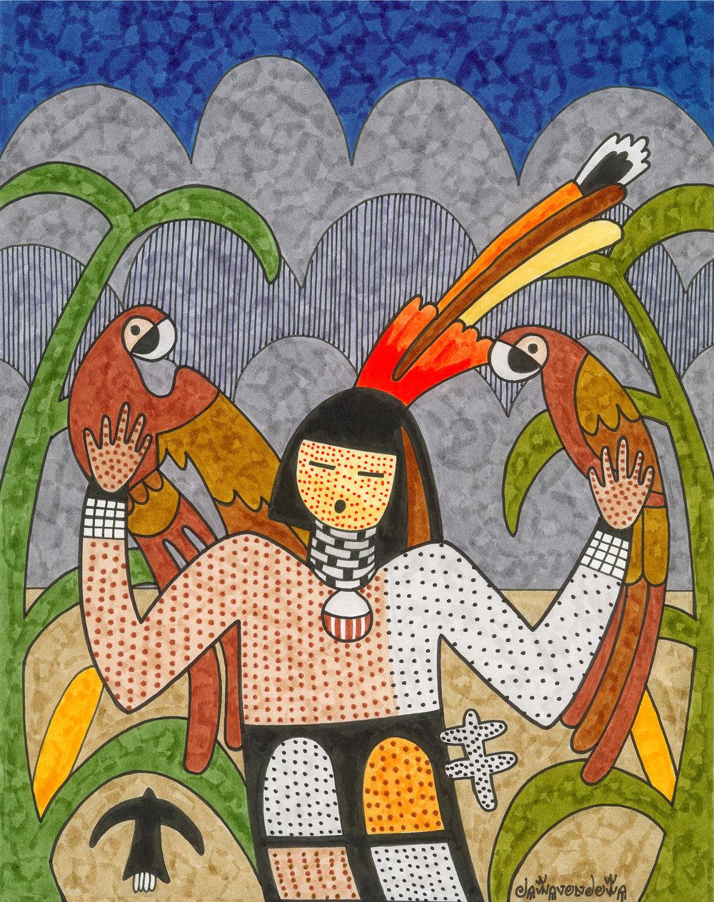 Parrot Maiden  PC22