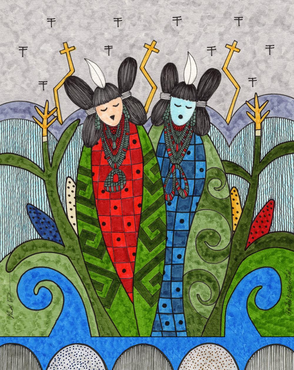 Corn Maidens  PC27