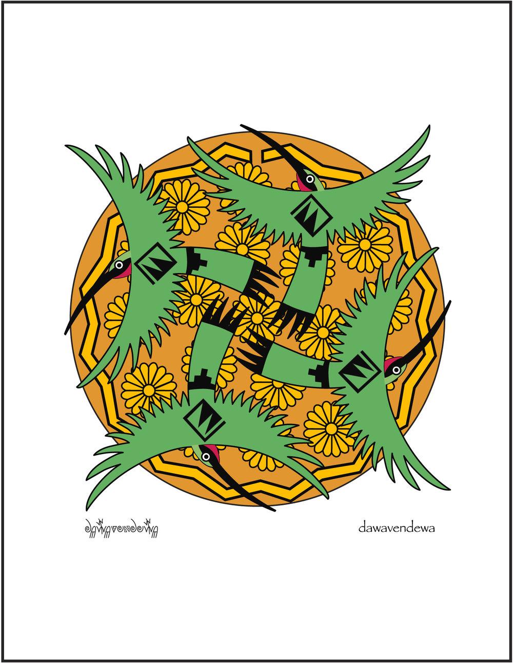 Tootòotsam - Hummingbirds  NC01