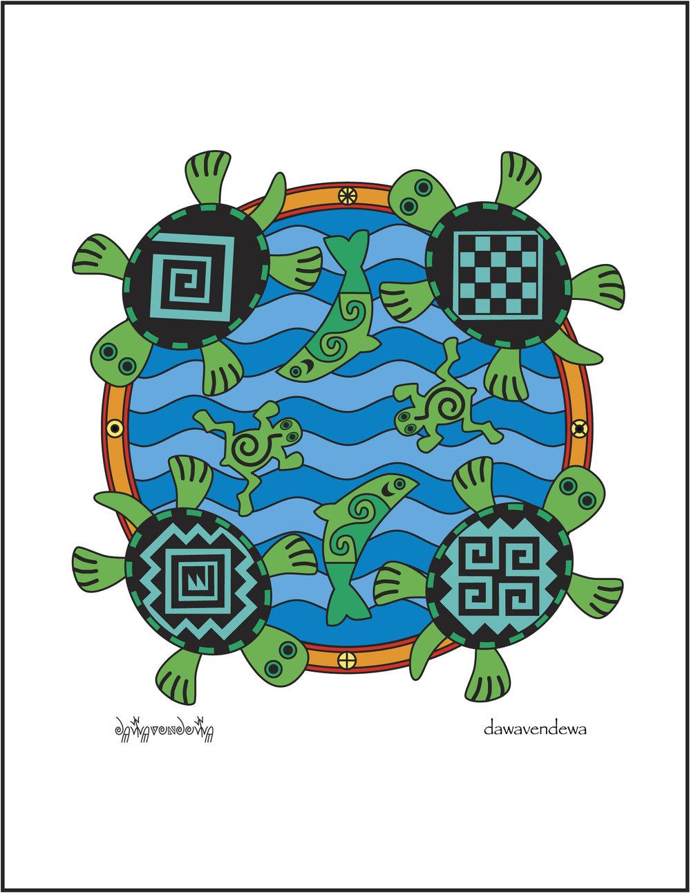 Yöngösont - Turtles  NC06