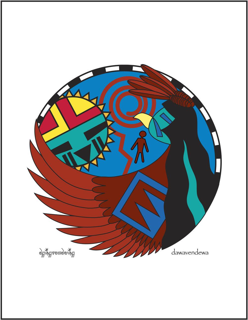 Kwaahu - Eagle  NC07