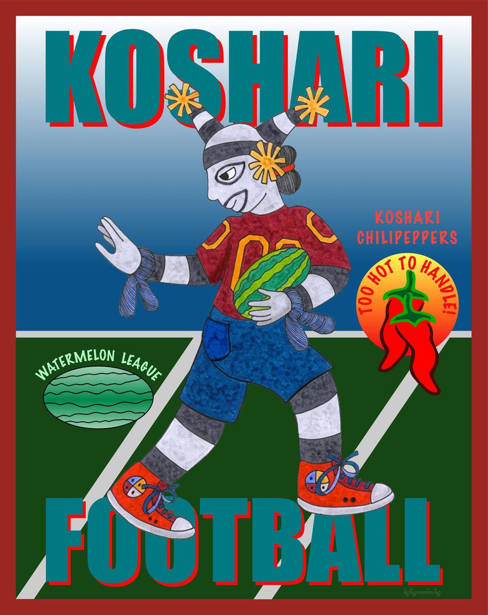 Koshari Football  PC46