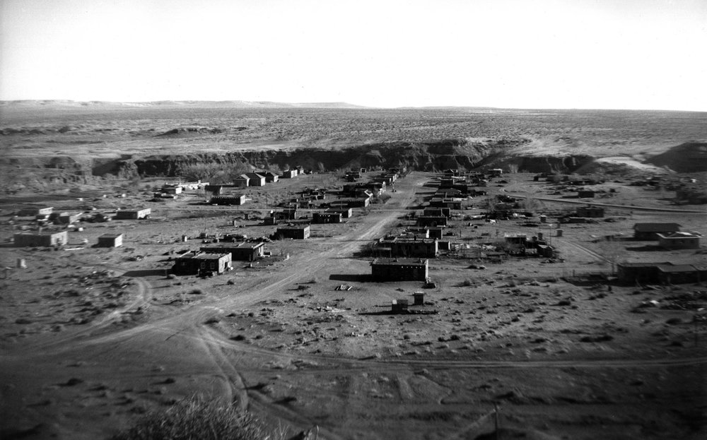 Hopi village of Munqapi. circa 1950s