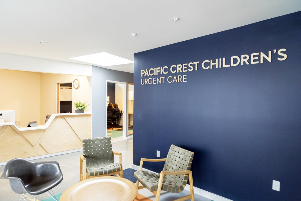 Pacific Crest Childrens Urgent Care Clinic Waiting Room and Front Desk.jpg