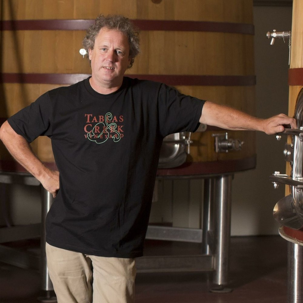Neil Collins, Executive Winemaker and Vineyard Manager, Tablas Creek Vineyard