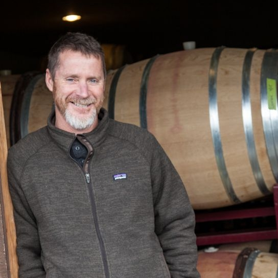 """Jason Drew, Drew Wines – Mendocino Ridge - When we first met Jason, he was the associate winemaker at Babcock, down in what is now called Sta. Rita Hills. """"The toughest thing for me when I was down there was to make a wine that had restraint,"""" he says. So he and wife Molly turned their attention northward. In 2004, they found an old 26-acre apple orchard on a 1,200-foot-elevation ridgetop in Elk, less than four miles from the ocean. He has now found his spot and produces mainly Syrah and Pinot Noir from various single vineyards in his area while waiting for his own estate plantings to come on line. His views on Santa Barbara, Sonoma Coast, Mendocino Ridge, Anderson Valley—the vines, soils, aspects, wind—should be quite insightful."""