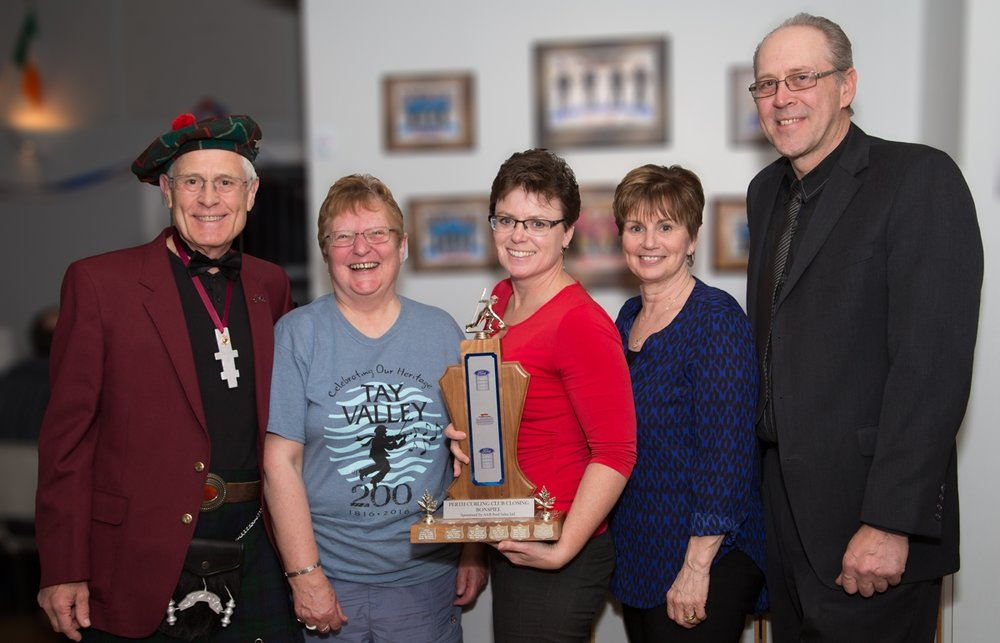 "2016 Closing Bonspiel ""A"" Champions J.D. Labelle Photo"