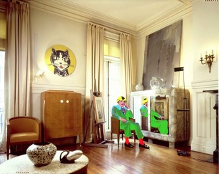 Andy Warhol NY Living Room