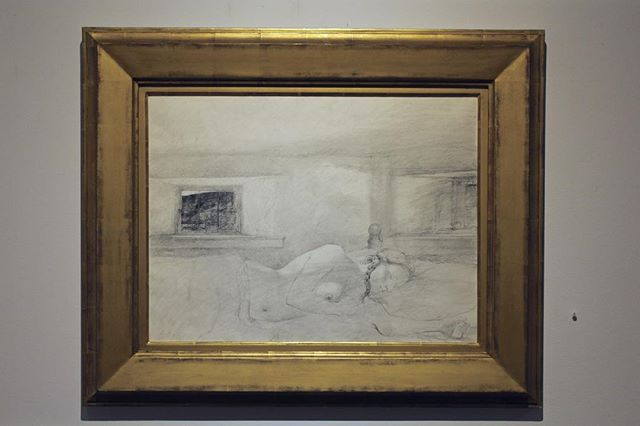 Andrew Wyeth: Study for Overflow, 1978. Final Week Masters of Realism Featuring: Rainer Andreesen, Daniel Sprick, Matthew Adelberg, Deborah Martin, Michael Viera, David DeSimone, Cara DeAngelis, Pat Hobaugh and others. Thru March 8th Rafael Gallery 235 E59th St. NYC 212-755-4888 #andrewwyeth #rafaelgallery #mmfineart #m_and_mfineart #petermarcelle #apmarcelle #contemporarypainting #contemporaryart #contemporaryrealism #art #realism #watercolor #sculpture #figurativeart #portrait #artoninstagram #artistsoninstagram #artsagram #interiordesign #design #decorator #nycgallery