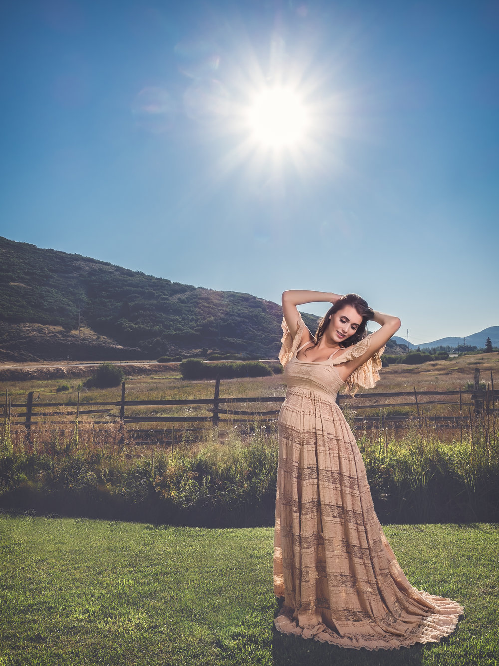 Model: Carly Larsen | Facebook: https://www.facebook.com/larsencarly/ IG: @larsen.carly HMUA 1: Makeup - Tierra's Beauty Bar HMUA 2: Hair - Lexi Harker Beauty Dress/Color: #edithgown in Camel by @sewtrendyaccessories
