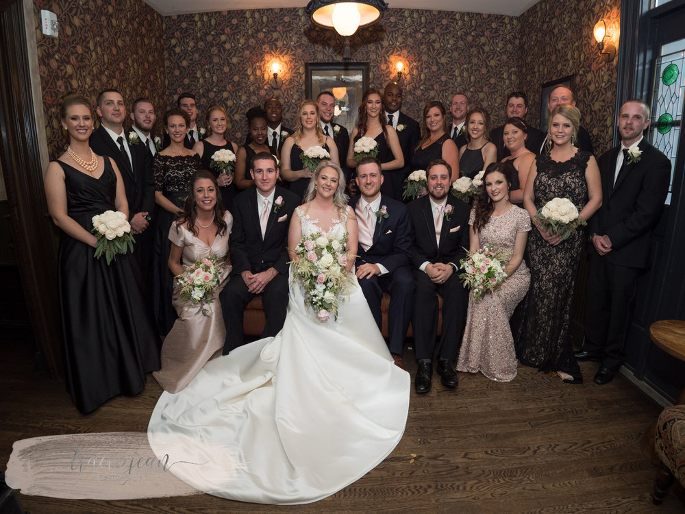 Bridal Party at Taft's Ale House