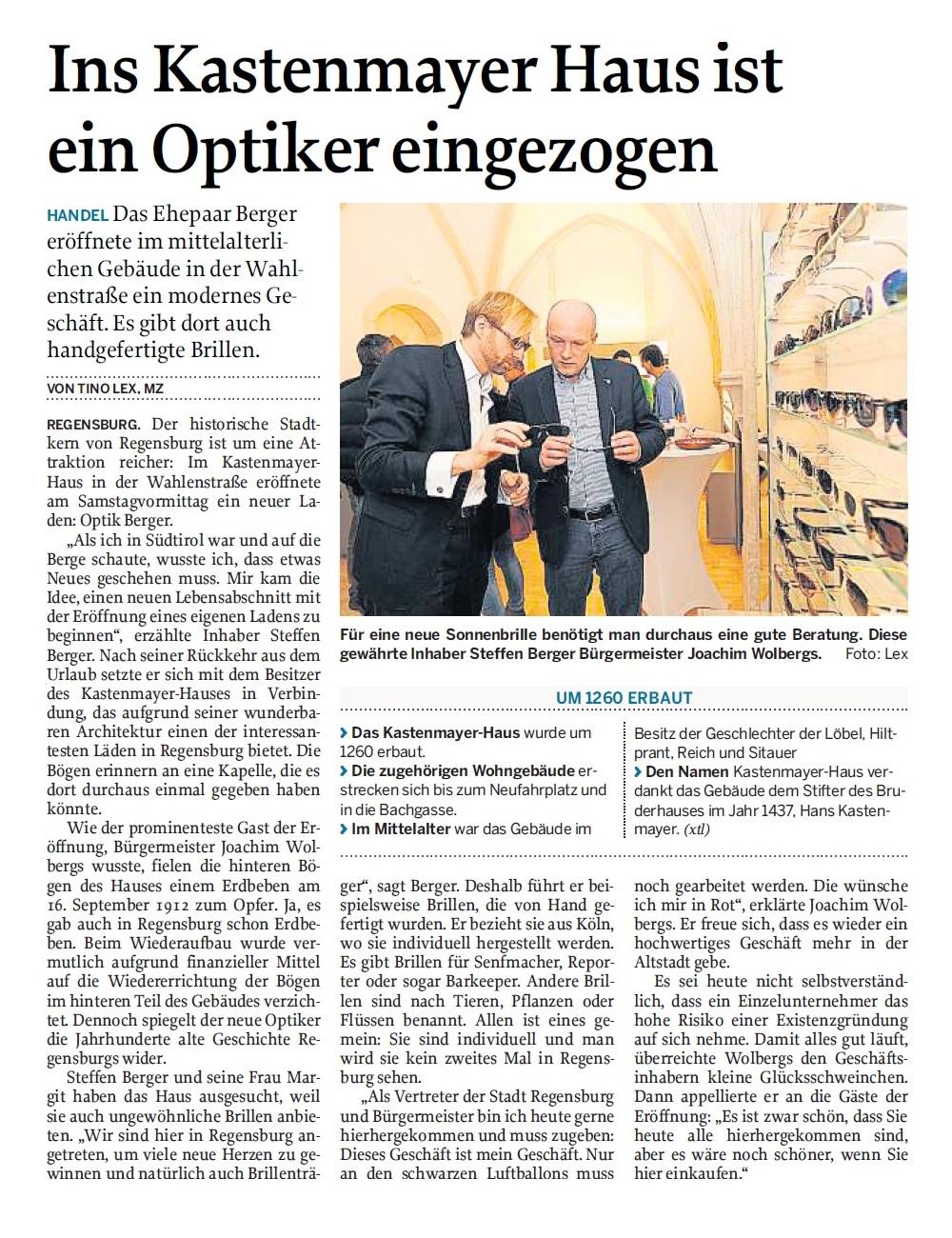 News aus der Mittelbayrischen Zeitung
