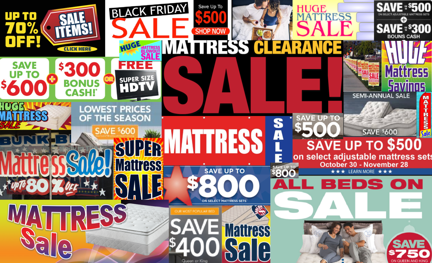 Reasons You Should Never Buy a Mattress that's $500 Off (or More).