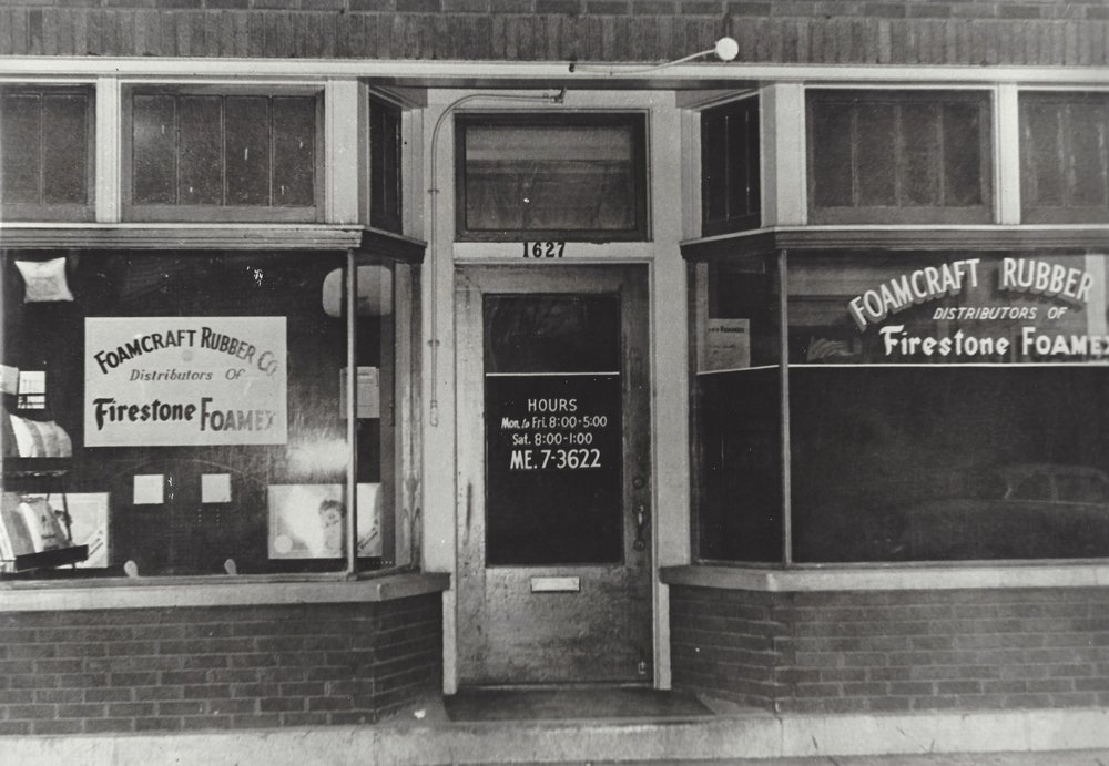 The first showroom.