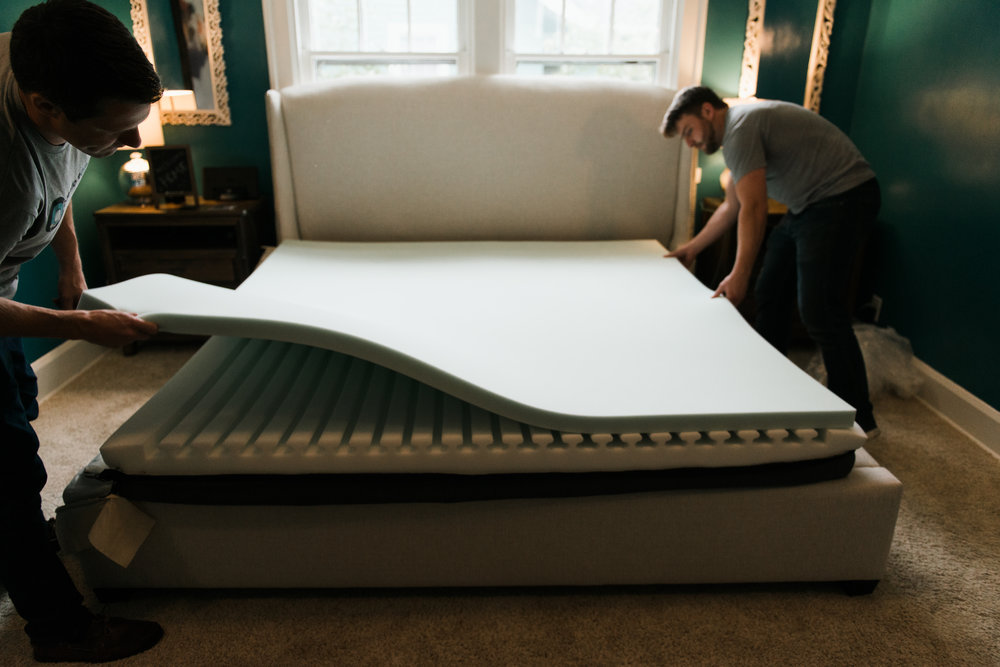 Backed by Our 30/90 Comfort Commitment. - Manufacturing locally allows us to do things a little differently, and we believe we can do better than a typical, gimmicky mattress warranty. Here's how our 30/90 Comfort Commitment works.If you are unhappy with the feel of your mattress or its performance for any reason after the first 30 nights, simply contact us withing the following 90 days and we will come out to your home and rebuild your mattress on the spot, using new materials to give it the feel and/or properties you're looking for. Free of charge. We're confident that we can make a mattress that works just right for you and, should we get it wrong the first time, we'll eagerly make it right.