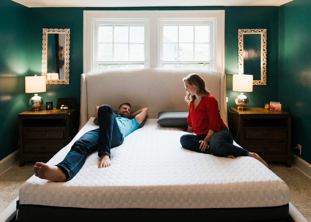 More density means more durability - Our mattresses have a foam core with a 2.2 pounds per cubic foot density. That's nearly 40% more density than the average foam mattress core, and 5 times more durable.