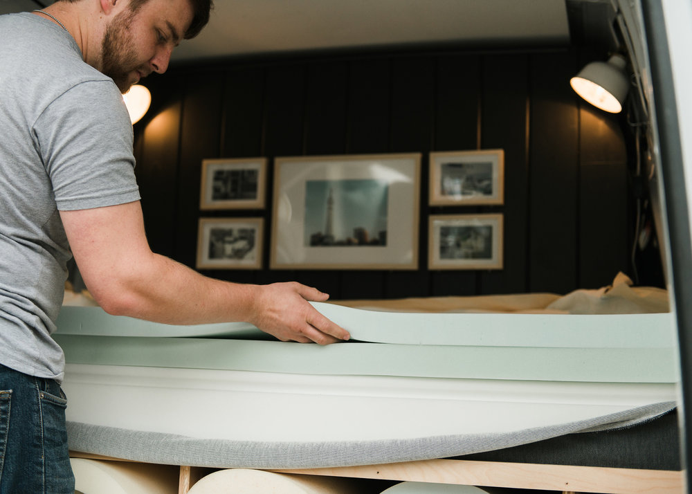 Comfort Option actually makes the mattresses we sell - we don't use a subcontractor. We prefer to make something custom for you, rather than selling what's on a shelf.