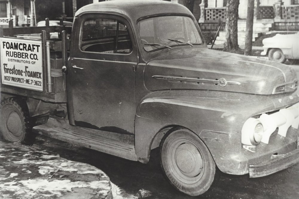 Our first delivery truck.