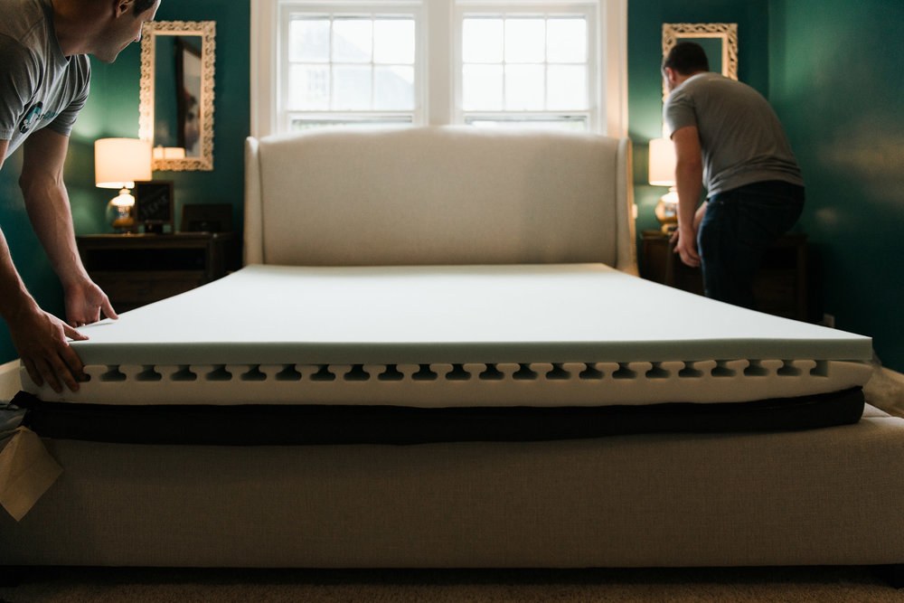 Comfort Option's foam core uses a unique CNC design called I-Beam, which provides consistent air flow from the head to toe during the entire night's sleep.