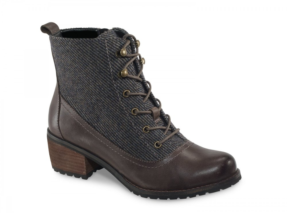 Aetrex Skyler Ankle Boot - Iron Grey (PC: Aetrex.com)