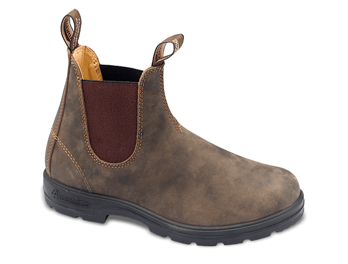 Blundstone Pull on Bootie - Rustic Brown (PC: Blundstone.com)