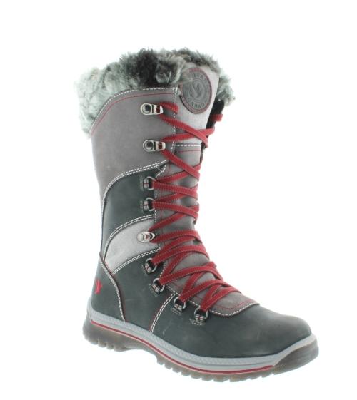 Santana Morella Lace Boot - Charcoal (PC: santanacanada.com)