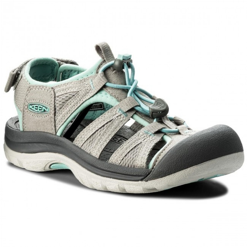 Keen Venice II H2 Close Toe Sandal - Paloma / pastel Turquoise (PC: Shoes.com)