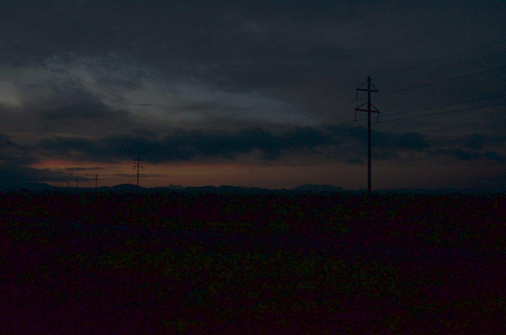 US 90 between marfa and alpine texas.