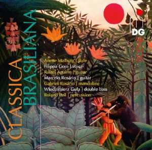 CLASSICA BRASILIANA   Rafael's first non-recital CD and recording collaboration with other musicians. This Brazilian album approaches Milhaud's outsider's vision and classical Brazilian folk by popular musicians like Pixinguinha.